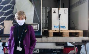 Covid-19: Ministra da Saúde diz que chegada das primeiras vacinas renova a esperança