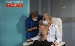Covid-19: Plano Nacional de Vacinação arrancou no Hospital São João no Porto