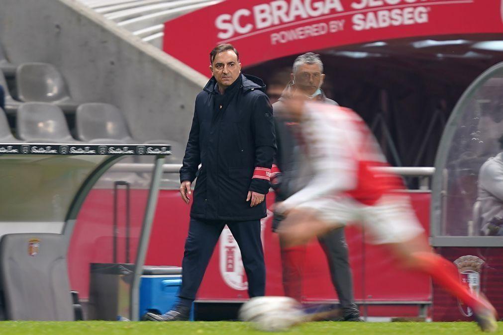 Carlos Carvalhal assegura Braga de