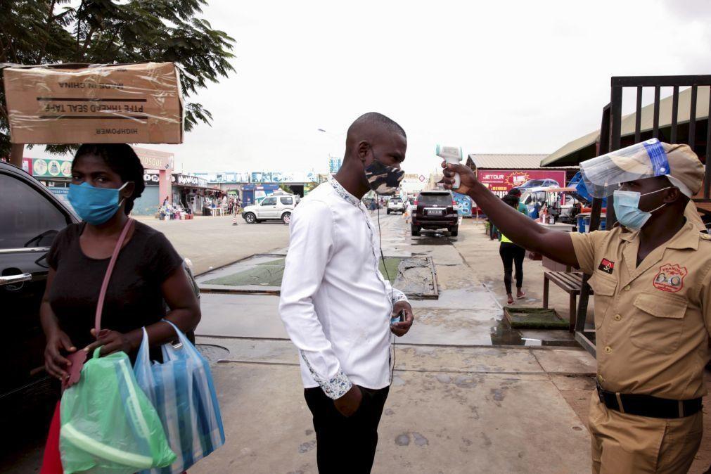 Covid-19: Angola com 91 novas infeções e nenhum óbito nas últimas 24 horas