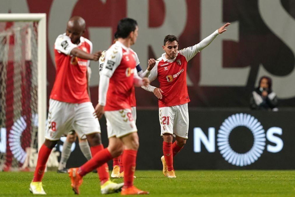 Sporting de Braga procura entrar provisoriamente no pódio da I Liga