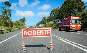 Quatro mortes nas estradas de Portugal continental no período de Natal