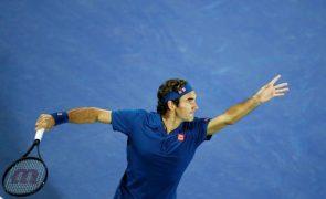 Roger Federer falha Open da Austrália de ténis pela primeira vez