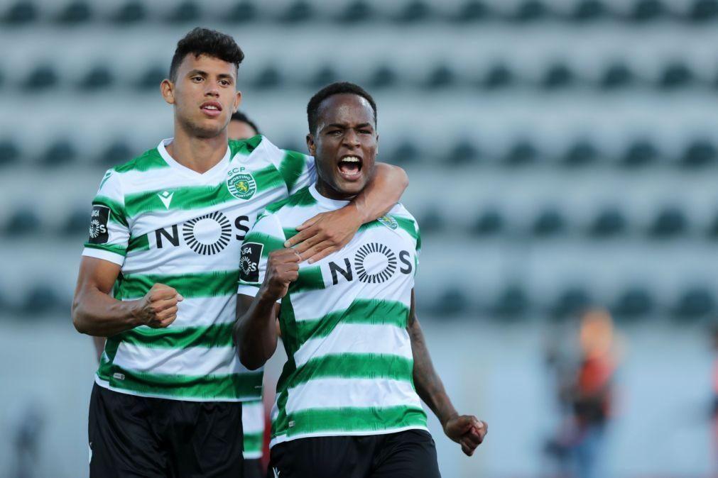Jovane recupera e já treina no Sporting, Nuno Mendes em tratamento