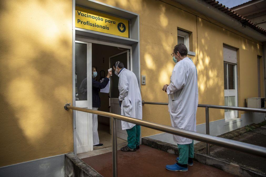 Covid-19: Vacinação arranca na terça-feira para profissionais de saúde do Oeste e da Lezíria