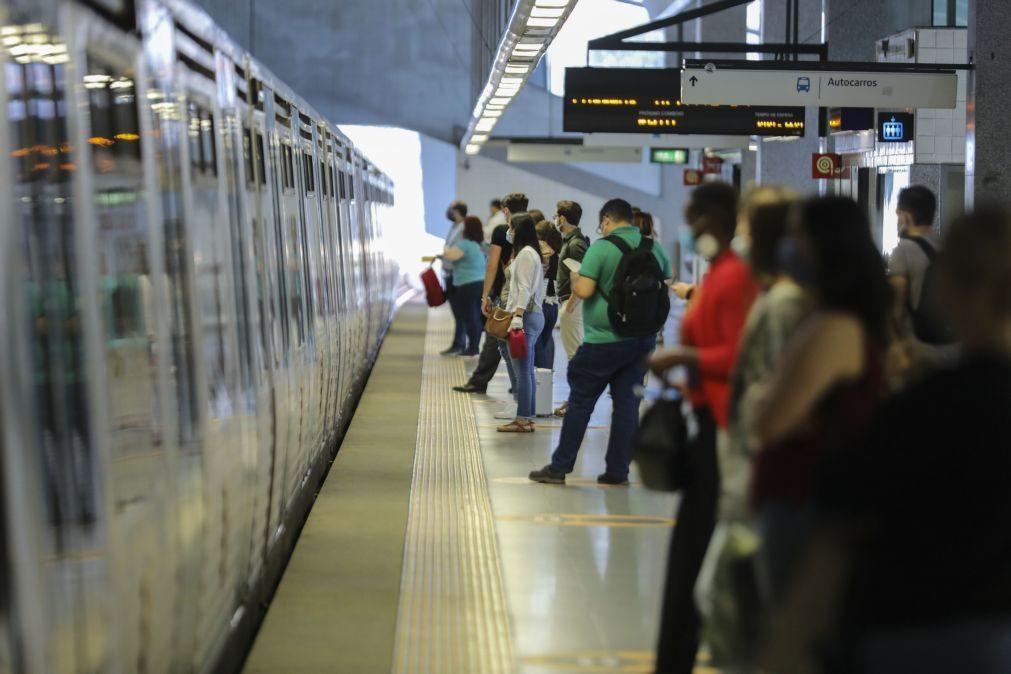 Restabelecida circulação na Linha Azul do Metro de Lisboa desde as 17:06