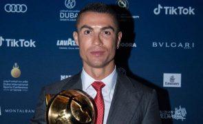 Cristiano Ronaldo Comete lapso ao evocar nome dos filhos na cerimónia dos