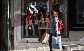 Vendas no comércio a retalho acentuam queda para 5,1% em novembro - INE