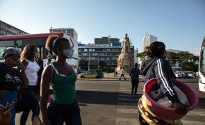 Covid-19: Moçambique anuncia mais uma morte e 62 novos casos
