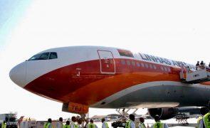 Covid-19: TAAG cancela voo para Joanesburgo sem alternativa e nega decisão