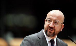 UE/Presidência: Charles Michel em Lisboa a 05 janeiro no lançamento do semestre