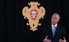 PR deseja feliz Ano Novo ao povo ucraniano e agradece contributo para desenvolvimento de Portugal