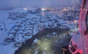Deslizamento de terras na Noruega faz 10 feridos e obriga a retirar 500 pessoas