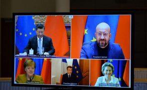 UE e China alcançam