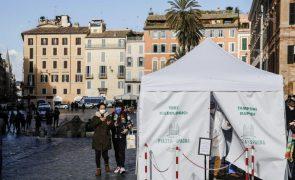 Covid-19: Itália regista 16.202  infeções e 575 óbitos nas últimas 24 horas