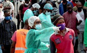 Covid-19: Angola reporta 62 novas infeções e duas mortes nas últimas 24 horas
