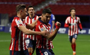 Atlético de Madrid sofre para vencer Getafe 1-0 e pressiona Real Madrid