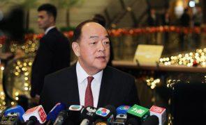Chefe do Executivo de Macau diz que combate à pandemia continua a ser prioridade