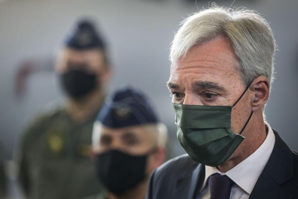 Ministro da Defesa quer mobilizar UE na presidência portuguesa para importância de missões no Mali