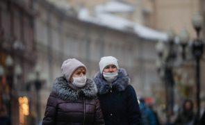 Covid-19: Rússia com mais 27 mil casos e 536 mortes em 24 horas