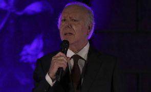 Carlos do Carmo: Cerimónias fúnebres realizam-se na segunda-feira em Lisboa