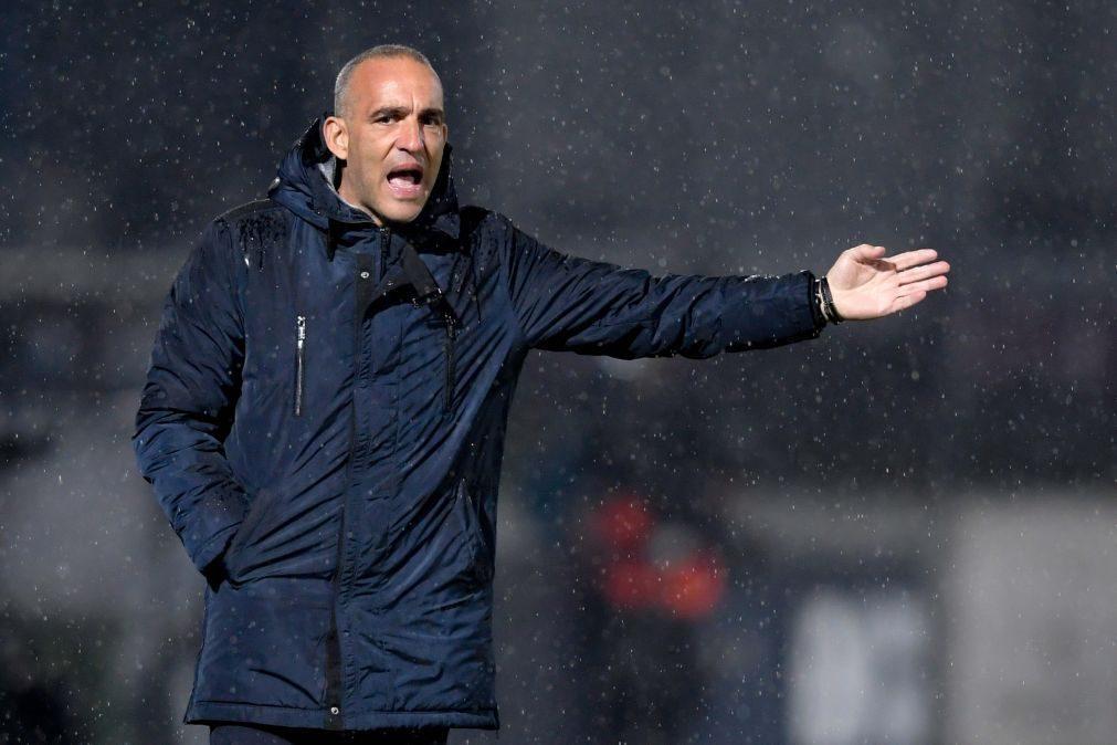 Treinador do Famalicão salientou necessidade de regressar às vitórias frente ao Tondela