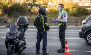 Covid-19: Mais de cem mil euros em multas de violação ao estado de emergência