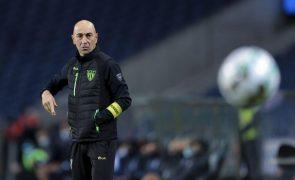 Treinador Pako Ayestarán quer Tondela concentrado e seguro frente ao Famalicão