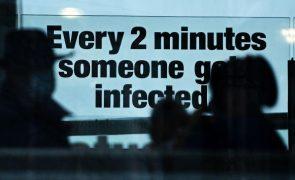 Covid-19: Reino Unido regista mais 57.725 casos em 24 horas, um novo recorde