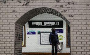 Covid-19: França com mais 157 mortes e 3.466 novos casos