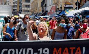 Covid-19: Brasil com 15.827 novos casos e 314 mortes
