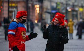 Covid-19: Rússia regista 447 mortes e 24.150 novos casos em 24 horas