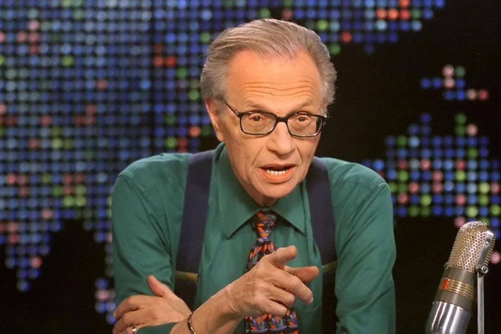 Morreu Larry King, premiado apresentador norte-americano