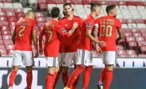 Benfica regressa às vitórias frente ao Tondela [vídeos]