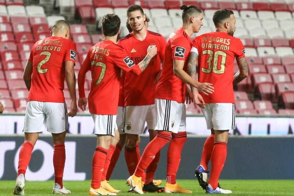 Benfica com 17 casos positivos de covid-19. Clube pede parecer da DGS