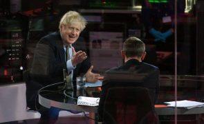 Covid-19: Boris Johnson avisa para possibilidade de mais restrições em Inglaterra
