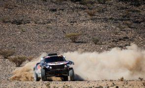Dakar2021: Sainz vence primeira etapa dos carros e assume liderança por oito segundos