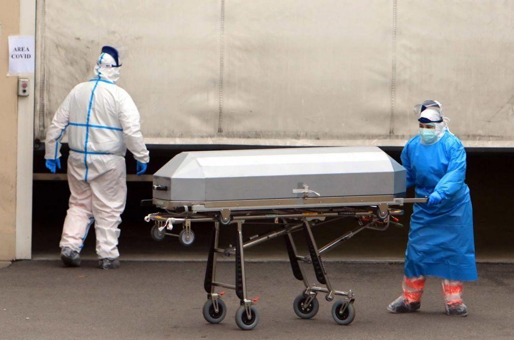 Covid-19: Sindicato denuncia irregularidades na recolha de cadáveres em centro hospitalar