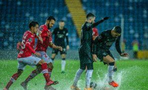 Benfica tenta recuperar segundo lugar nos Açores