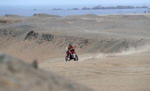 Dakar2021: Barreda vence segunda etapa e é novo líder nas motas