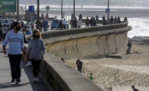 Covid-19: Portugal com 25 concelhos em risco extremo