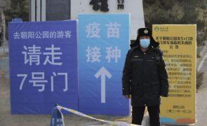 Covid-19: China designa de alto risco áreas próximas de Pequim com 14 casos locais