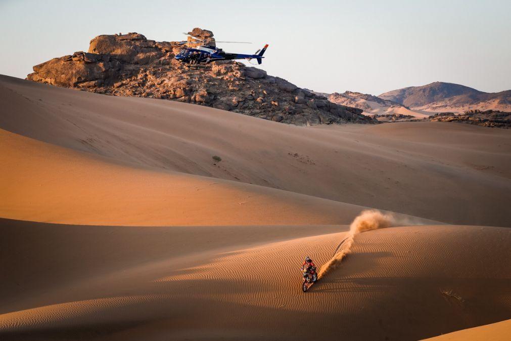 Dakar2021: Price vence pela segunda vez em dia de nova mudança de líder nas motas