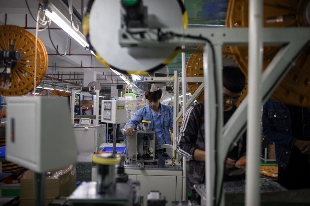 Preços da produção industrial caem 1,9% na zona euro em novembro