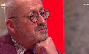 Marido de Manuel Luís Goucha em lágrimas :