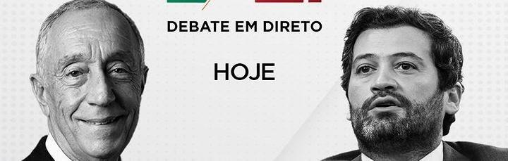 SIC mantém debate televisivo entre Marcelo Rebelo de Sousa e André Ventura