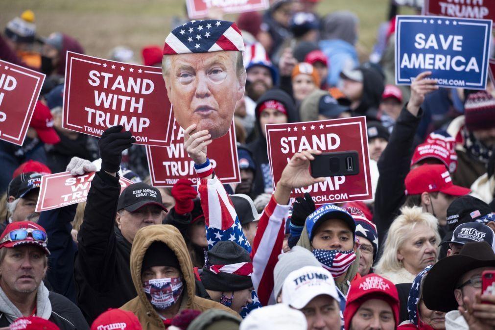 EUA/Eleições: Milhares de apoiantes de Trump manifestam-se em Washington