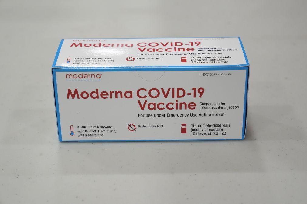 Covid19: Portugal recebe primeiras vacinas da Moderna nos