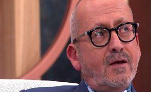 Manuel Luís Goucha chora há três dias. Pompeu José deixa o apresentador