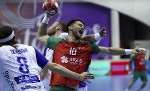 Portugal soma terceiro triunfo na qualificação para Euro2022 de andebol